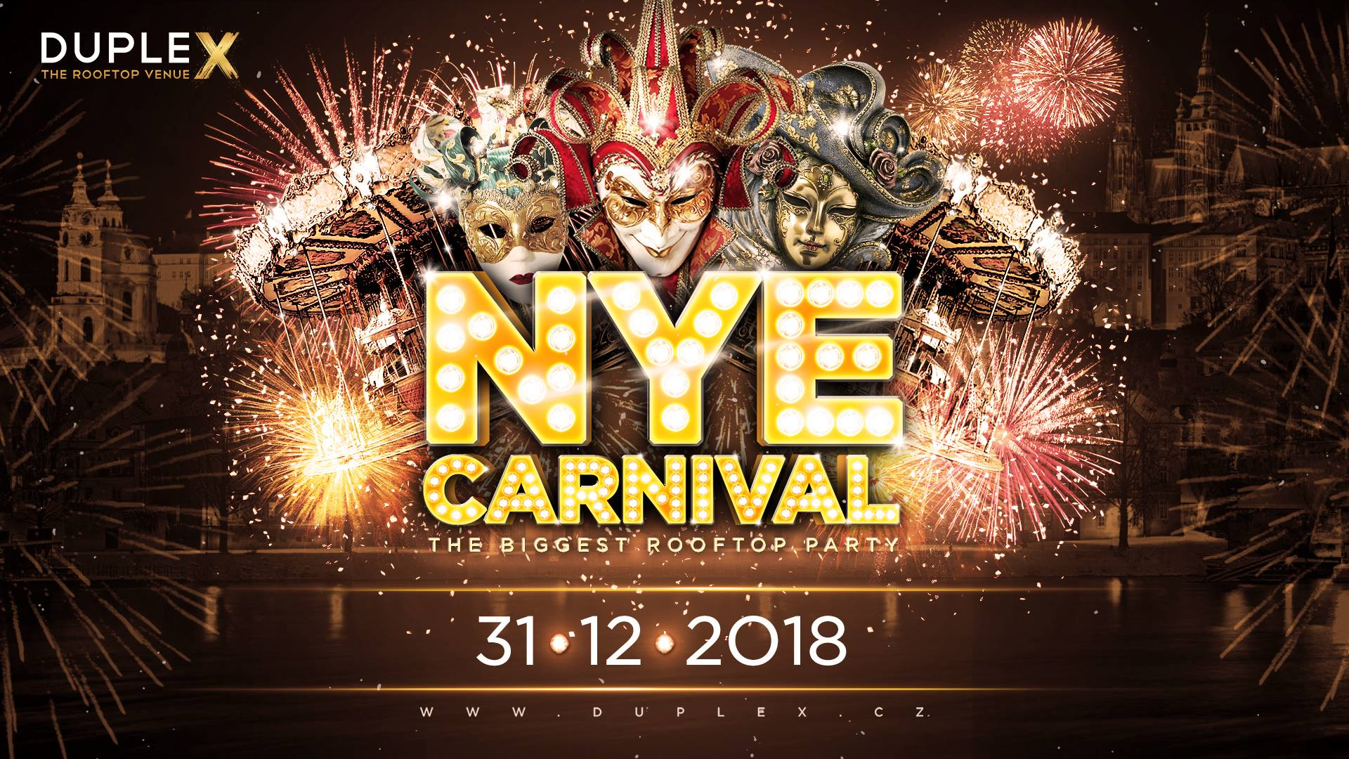 nye carnival 2018 at duplex